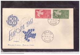 FDC6194  -   MILANO  18.9.1961  /   FDC   EUROPA  1961 - F.D.C.