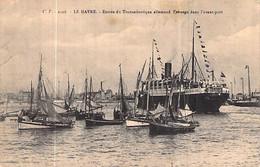 "Cpa Le Havre  Paquebot "" Ypiranga "" 1907 Kiel Allemagne "" Assyria "" Anchor Line - Steamers"
