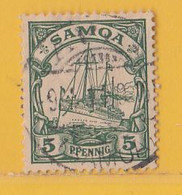 Nr. 8 O  Deutschland Deutsche Kolonie Samoa - Colony: Samoa