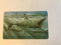 8:441 - Isle Of Man Chip Basking Shark - Isla De Man