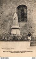 D72  MELLERAY  Monument Commémoratif Des Soldats De La Grande Guerre 1914 - 1918 - Other Municipalities