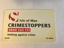 8:444 - Isle Of Man Chip Crimestoppers ( Not Perfect ) - Isla De Man