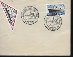 """FRANCE FDC 1962 Le Havre Bateaux Paquebot """" France """" - Barche"""