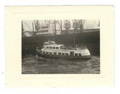 Photo Originale : Bateau à Hambourg 1956 - Schiffe