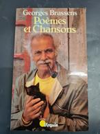 Poemes Et Chansons Georges Brassens +++TBE+++ LIVRAISON GRATUITE+++ - Franse Schrijvers