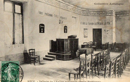 06.ALPES MARITIME/ NICE. DEBUTS DE L EGLISE REFORMEE (salle Pertinax) - Zonder Classificatie