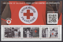 F 5350 Y.T. Neuf ** Feuillet Croix-rouge 'Une Chaîne De Solidarité Pour Lutter Contre Les Précarités 2019 - Ongebruikt