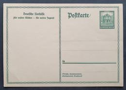 Deutsches Reich 1931, Postkarte P212 Ungebraucht - Briefe U. Dokumente