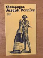 1 BUVARD JOSEPH PERRIER - Limonades