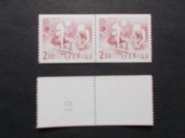 SUEDE / SVERIGE    -  CEPT    N° 1521 En Paire + N°   Année 1989  Neuf XX    ( Voir Photo ) - 1989