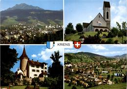 Kriens - 4 Bilder (8733) * 21. 6. 1981 - LU Lucerne