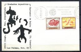Spain 1985 España / Special Postmark Archeology Matasellos Especial Arqueología Poststempel Archäologie / Jk08  35-38 - Archaeology