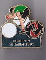 PIN'S THEME SPORTS / CYCLISME TOUR DE FRANCE  16 JUILLET 1991 COUERON EN LOIRE ATLANTIQUE - Ciclismo