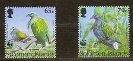 Solomon Salomon Islands 1993 Yvertn° 800-801 *** MNH Cote 2,50 Euro Faune Oiseaux Vogels Birds - Solomoneilanden (1978-...)