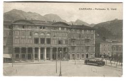 Carrara TRAM Politeama G.  Verdi Andata 1917 - Carrara