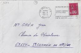 58 . NIEVRE . 58-NEVERS RP . SECAP . 1975 - Mechanical Postmarks (Other)