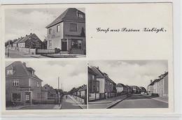 61445 Mehrbild Ak Gruß Aus Dessau Ziebigk Mit Bäckerei Und Kolonialwaren 1939 - Sin Clasificación