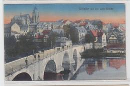 62456 Ak Wetzlar Mit Der Lahn Brücke 1919 - Zonder Classificatie