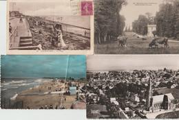 2102-623  4cp  Luc/mer - Lion/mer -courseulles/mer -st Aubin/mer     Dep 14  La Vente Sera Retirée Le 30-01 - Other Municipalities