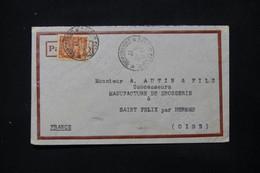 INDOCHINE - Enveloppe Commerciale De Saigon Pour La France En 1937 - L 84709 - Covers & Documents