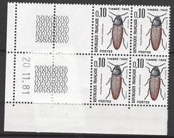 CD 103 FRANCE 1981 TIMBRE TAXE COIN DATE 103 : 20 / 11 / 81 AMPEDUS CINNA BARINUS - Portomarken