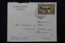 SALVADOR - Enveloppe Commerciale De Quito Pour La France En 1939 - L 84714 - El Salvador