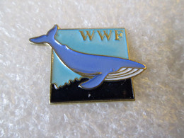 PIN'S   WWF   BALEINE - Animali