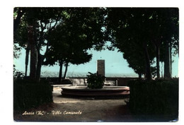 C3869 ANOIA (REGGIO CALABRIA) - VILLA COMUNALE ACQUARELLATA VG 1972 ED. DITTA GARONI PIACENZA - Otras Ciudades