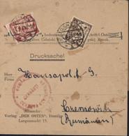 Bande Journal YT Danzig 112 114 Inflation 1000 + 5000 CAD Danzig 24 8 23 Censure Romania Censura Ecw Isailor Cernauti - Danzig