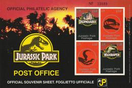 Francobolli - Erinnofilia - Jurassic Park - - Erinnofilia