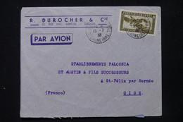 INDOCHINE - Enveloppe Commerciale De Saigon Pour La France En 1938 Par Avion - L 84729 - Covers & Documents