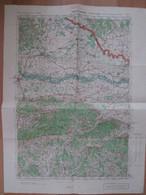 1931 Yugoslavia Military Topographical Map - Cakovec - Croatia - Mapas Topográficas