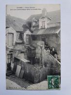 VIEUX SEVRES 92 Une COUR PITTORESQUE Dans La GRANDE RUE Hauts De Seine Carte Postale Ancienne CPA Postcard Animee - Sevres