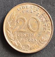 Coin France Moeda França 1963 20 Centavos 3 - E. 20 Centesimi