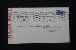 AFRIQUE DU SUD - Enveloppe Commerciale De Capetown Pour La France En 1945 Avec Contrôle Postal - L 84745 - Storia Postale