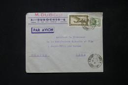 INDOCHINE - Enveloppe Commerciale De Saigon Pour La France En 1938 Par Avion - L 84758 - Covers & Documents