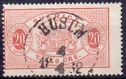 ZWEDEN 1874-77 20öre Dienstzegel Tanding 14 GB-USED - Officials