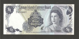 Iles Cayman, 1 Cayman Islands Dollar, 1971 - Cayman Islands