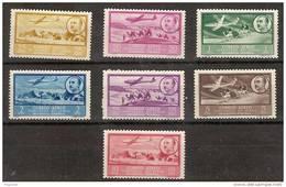 Africa Occidental 20/26 * Avion Y Franco.1951 Charnela - Spanish Morocco