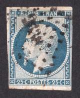 Louis-Napoléon N° 10 Bleu - Oblitération PC - 1852 Louis-Napoleon