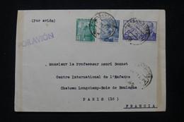 ESPAGNE - Enveloppe De Santander Pour La France En 1951 - L 84771 - 1951-60 Cartas