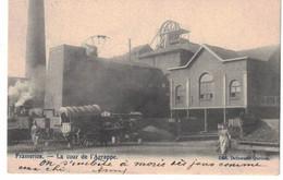 Frameries. Cour De L'Agrappe. Charbonnage. Attelage De Chevaux. Càd Frameries 2 Nov 1903. - Frameries