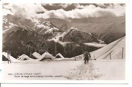 L'Alpe D'Huez - Chute De Neige Sur La Cime Du Cornillon - Non Classificati