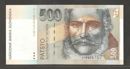 Slovaquie, 500 Korun, 1993 - Slovakia