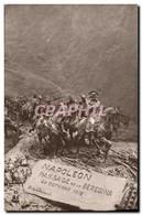 CPA Napoleon 1er Passage De Beresina 29 Octobre 1812 - Geschiedenis