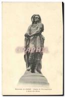 CPA Environs De Dijon Statue De Vercingetorix A Alise Ste Reine - Geschichte
