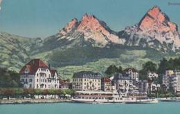 Schweiz - Brunnen Und Die Mythen - Ca. 1925 - SZ Schwyz