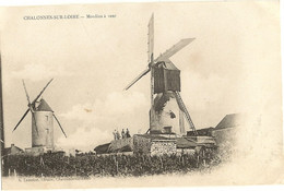 49 -  CHALONNES SUR LOIRE -  Moulins à Vent    76 - Chalonnes Sur Loire