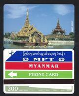 MYA-06 200 U Visit Myanmar Year 1996 15.000 Ex NEU ** MINT Myanmar