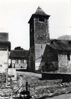 (156) CPSM  Osse En Aspe   Eglise Et Ecole (Bon Etat) - Other Municipalities